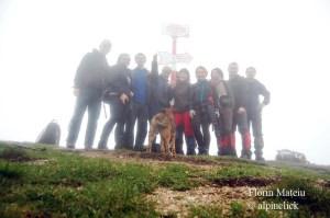 (29) Vf. Piatra Mare - poza de grup