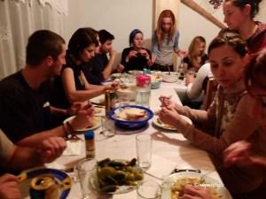 (07) Casa de Piatra - la cina